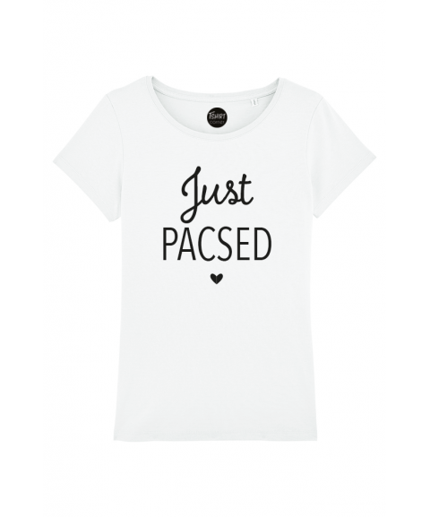 Just Pacsed - T-shirt Femme