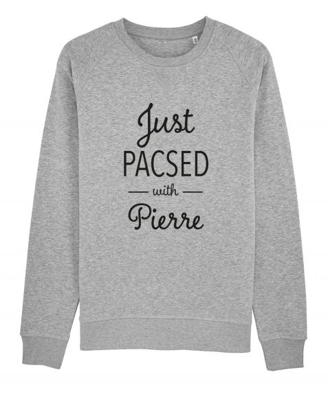 Just Pacsed - Sweat Femme à...