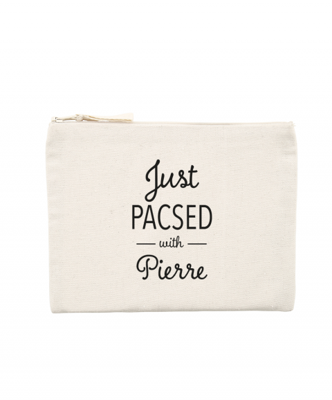 Just Pacsed - Pochette