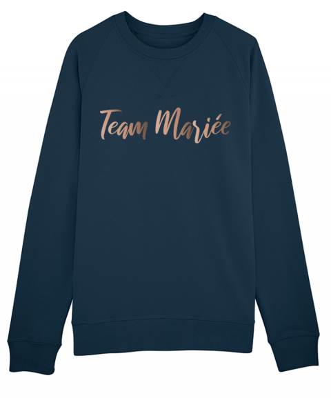 Team mariée or rose - Sweat...