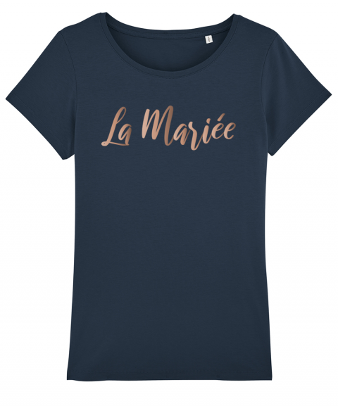 La mariée or rose - T-shirt...