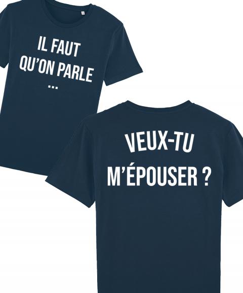 Veux-tu m'épouser - T-shirt...