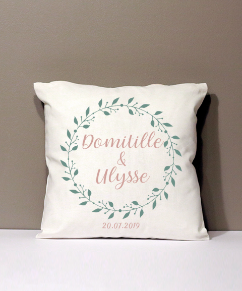 Coussin Personnalisable -...