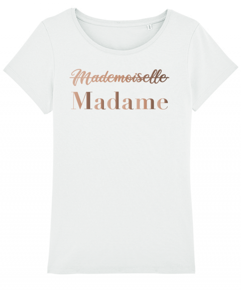 Madame or rose - T-shirt Femme
