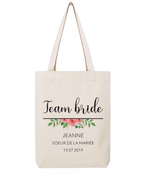 Team bride fleurs - Tote...