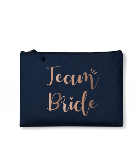 Team Bride - Pochette or rose