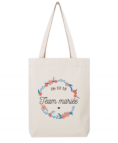 Team mariée fleurs - Tote...