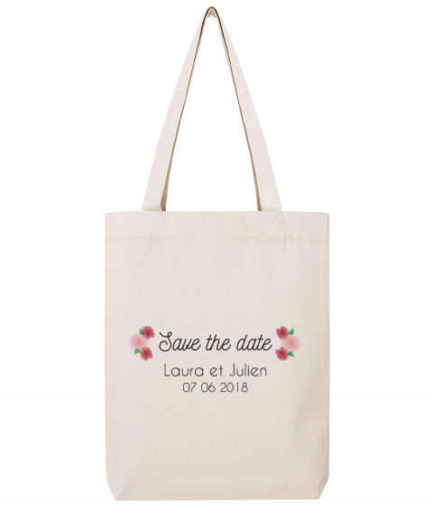 Save the date fleurs - Tote...