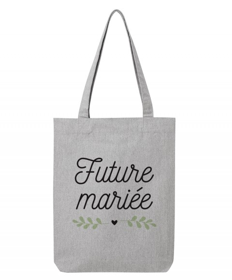 Future Mariée coeur - Tote Bag
