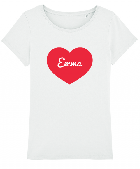 Coeur - T-shirt Femme...