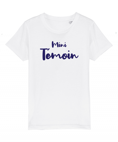 Mini témoin - T-shirt enfant