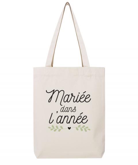 Mariée dans l'année - Tote Bag