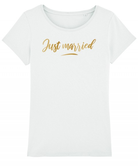 Just Married - T-shirt Femme