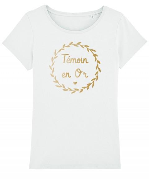 Témoin en OR - T-shirt Femme